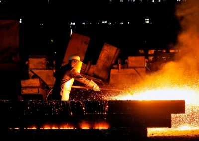 Globální produkce surové oceli za rok 2019 se oproti roku 2018 zvýšila o 3,4%.