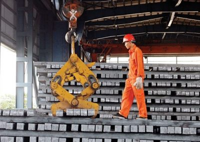 China is dumping steel on the global market