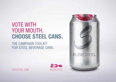 Ocel je skvělá na výrobu nápojových plechovek
