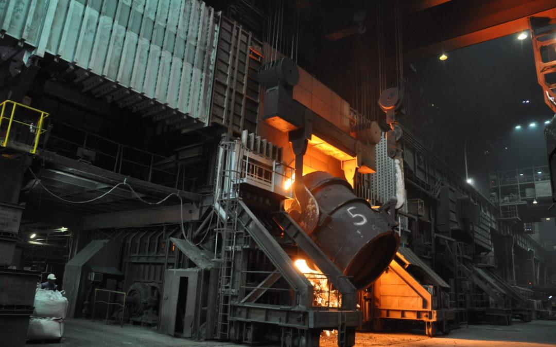 Výroba oceli vČesku loni vzrostla o desetinu, ale dovoz rostl ještě rychleji, na rekordních 7,5 milionu tun